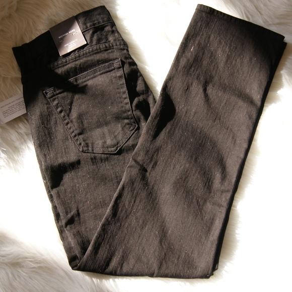 8c56232468a1 Michael Kors Black Wash Grant Classic Fit Jeans